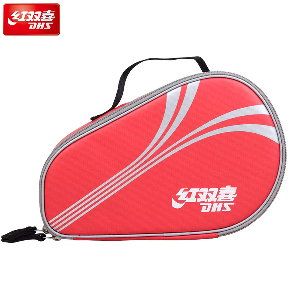 DHS RC302 Ping Pong Bag-Oxford Square Double-Decker Table Tennis Bag-You can Put 2 ping-Pong