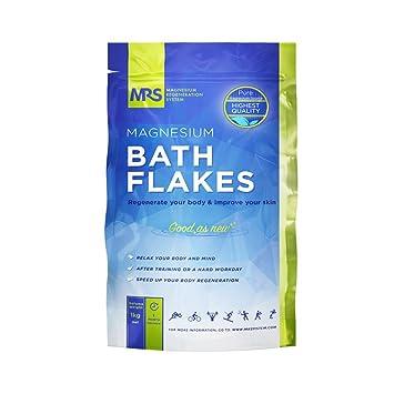 Amazon.com: Mejores copos de magnesio baño, sales de baño ...