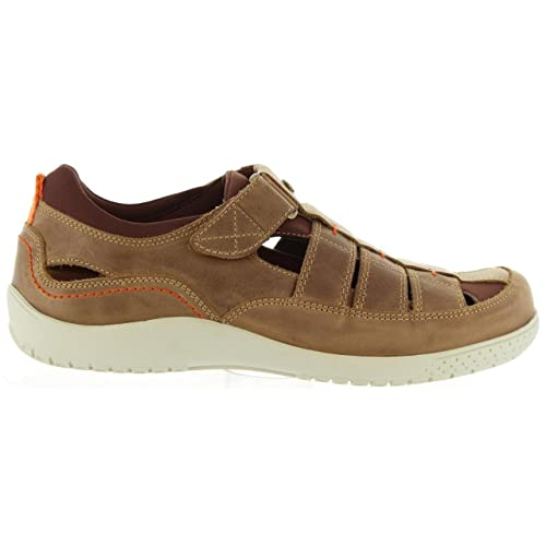 PANAMA JACK Sandalias de Hombre Meridian Mink C1 Napa Grass Vison Talla 40: Amazon.es: Zapatos y complementos