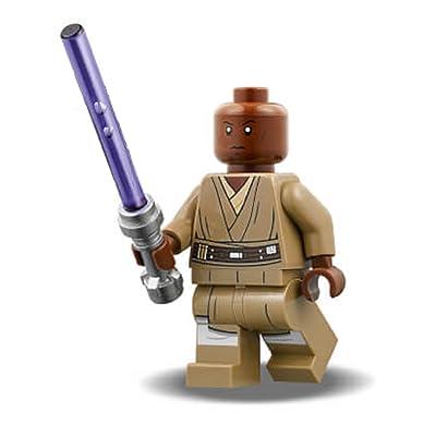 LEGO Star Wars - Jedi Master Mace Windu Minifigure (2020): Toys & Games