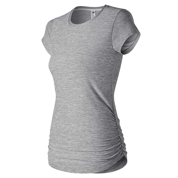 53c02f61d7797 Amazon.com: New Balance Women's Transform Short Sleeve tee: Clothing