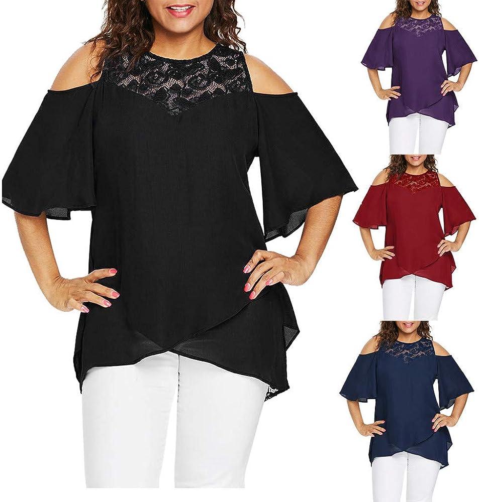 Vectry Camisa Larga Mujer Casual Blusas Mujer Elegantes Camiseta Mujer Escote V Camiseta Negra Mujer Manga Corta Camisetas Mujer Verano 2019 Camiseta: Amazon.es: Ropa y accesorios