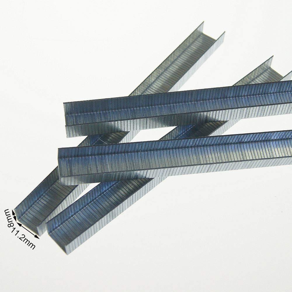 KATSU Tools 5000PCS U-Shaped Steel Staple Tacker Pin Fixing Puncture DIY Tool 13 mm