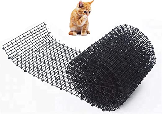 Esterilla para gato con protección contra pinchos, para jardín ...