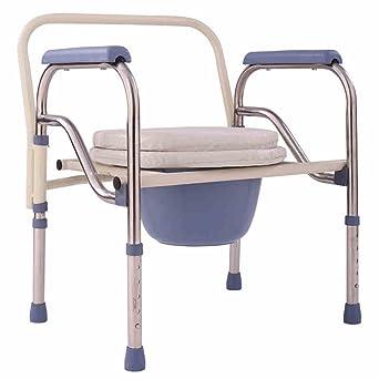 Amazon.com: SunHai - Silla plegable con asiento acolchado ...