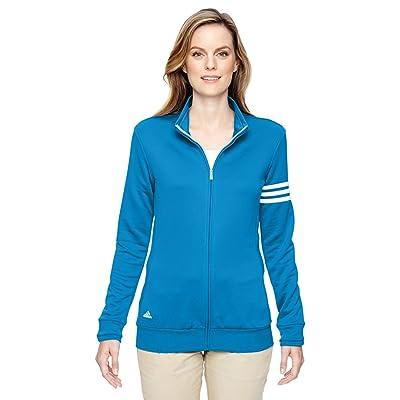 adidas Golf Ladies' climalite® 3-Stripes Full-Zip Jacket