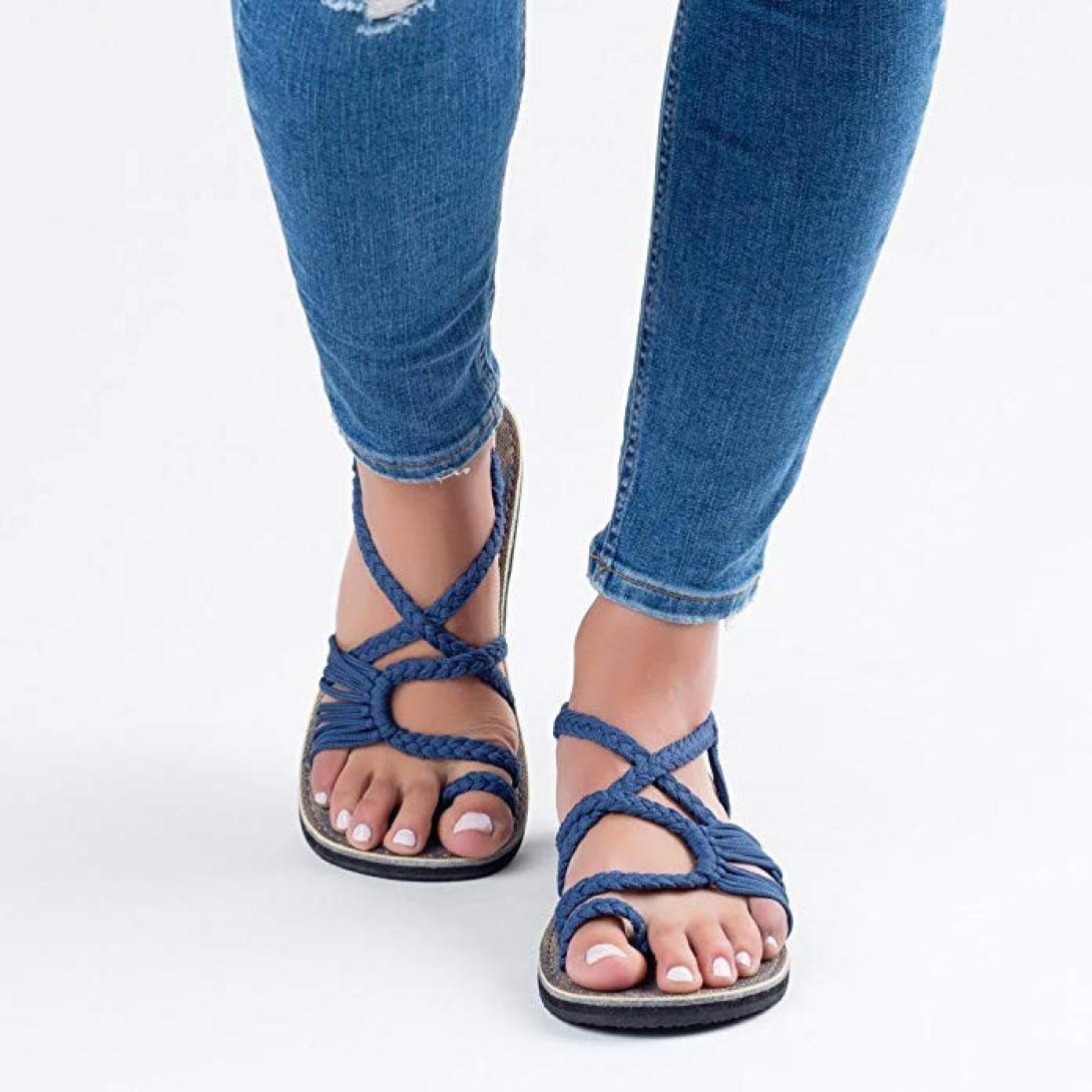 Zapatos de playa mujer, Covermason Ropa de playa SummerWoven Strap Fashion Beach: Amazon.es: Ropa y accesorios