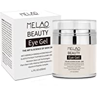 Eye Gel for Dark Circles, niceEshop(TM) Eye Moisturizer Cream for Puffiness, Wrinkles and Eye Bags, Effective Anti-Aging Eye Gel for Under and Around Eyes