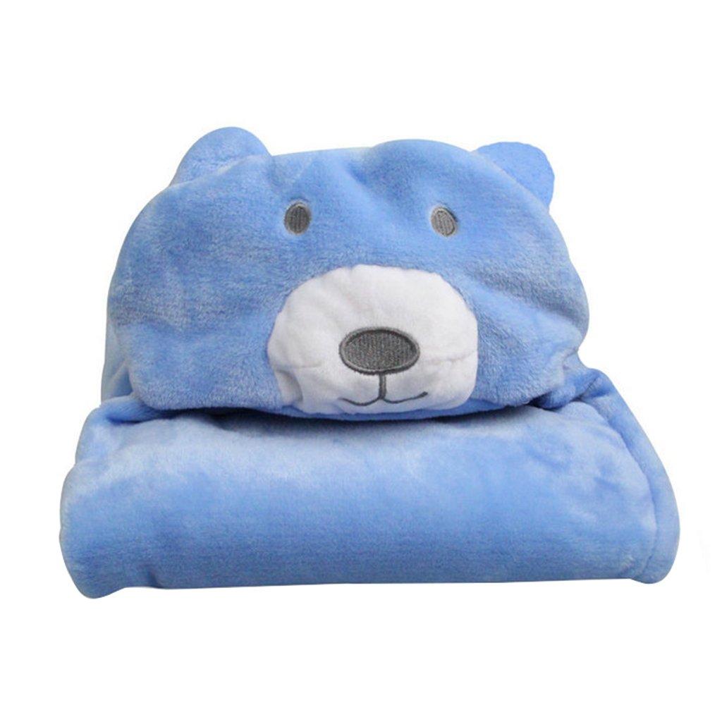 Vine Baby Blankets Swaddle Coral Fleece Hooded Towel for Boys Girls Newborn Kids Christmas Gift 100*70CM Vine Trading Co. Ltd E160920PF01004V