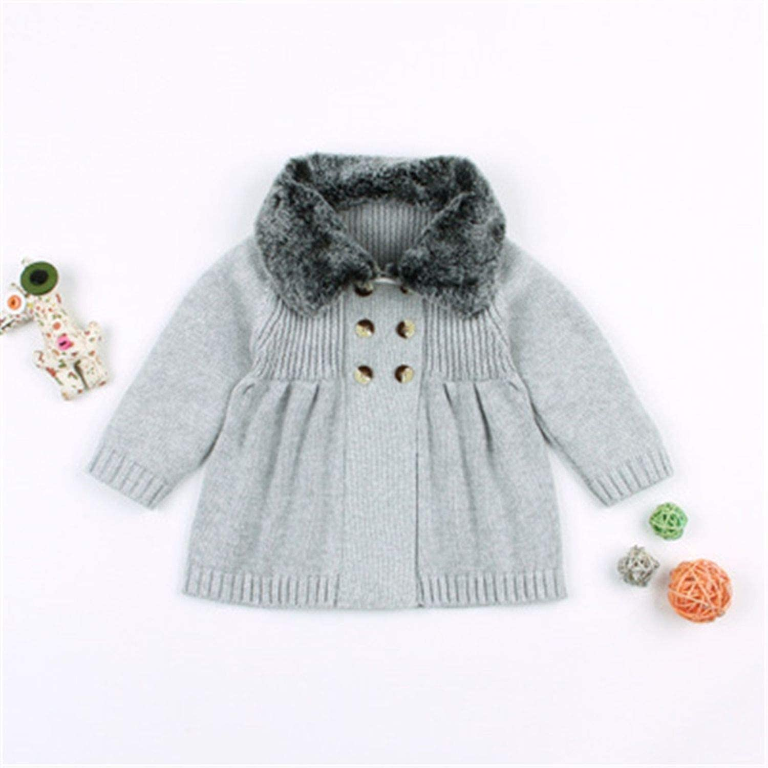 Toddler Baby Girls Boys Christmas Tree Cardigans Knitted Sweater Autumn Winter Long Sleeve Pullovers