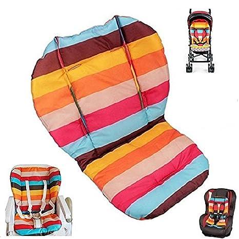 Amazon.com: twoworld Baby Stroller/coche/alta silla cojín ...