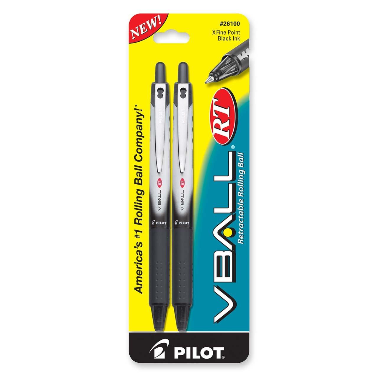 PILOT VBall RT Refillable + Retractable Liquid Ink  [0260UDE0]