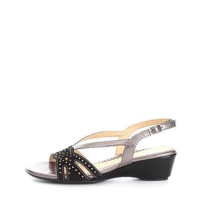 Melluso S504V Sandales Femme Black Black - Chaussures Sandale Femme