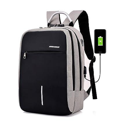 Kigurumi Mochilas Escolares, Mochila Para Portatil con USB Puerto y Puerto de Auriculares, Mochila