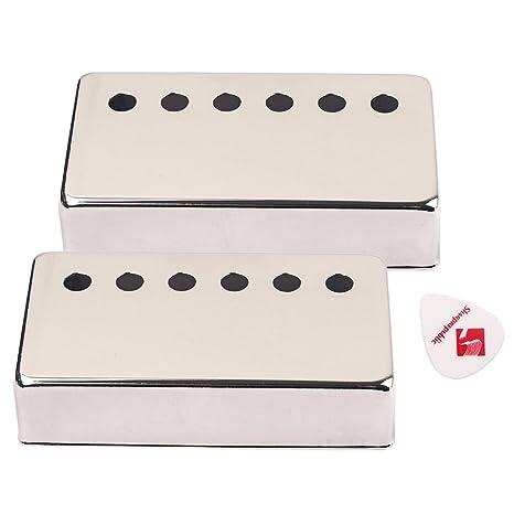 SM SunniMix 2pc 50mm pastillas humbucker de guitarra para guitarra eléctrica lp sg eiphone