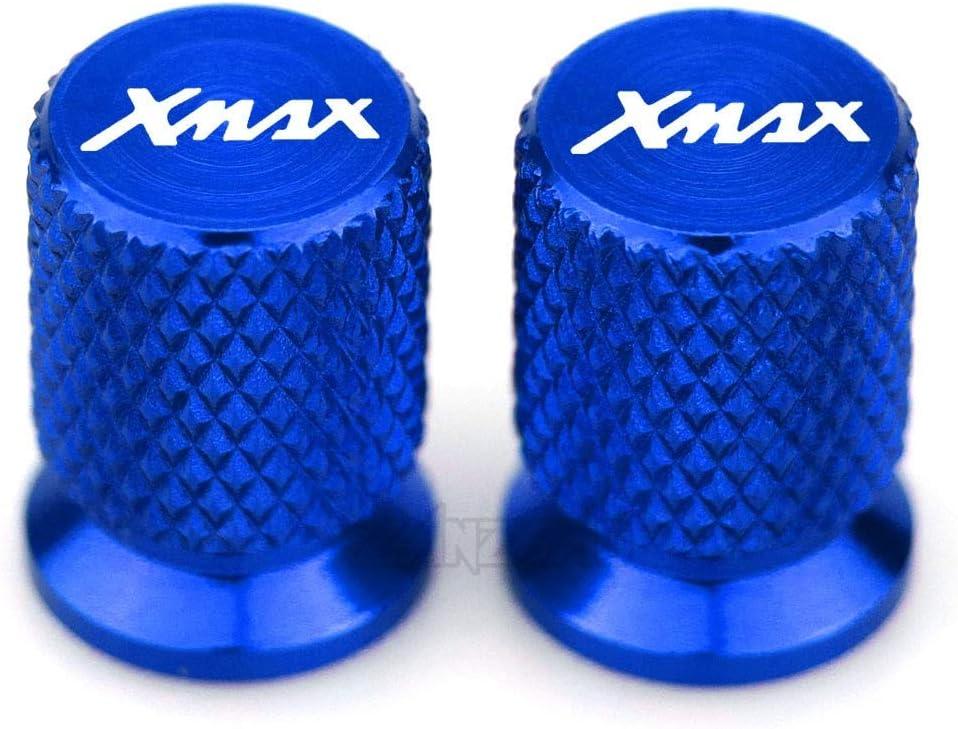 Color : Black Tutto lanno MUJUN Riserva XMAX Moto valvola della gomma di alluminio di CNC Tire Air Port staminali cappuccio del tappo Accessori for Yamaha XMAX 125 250 300 400