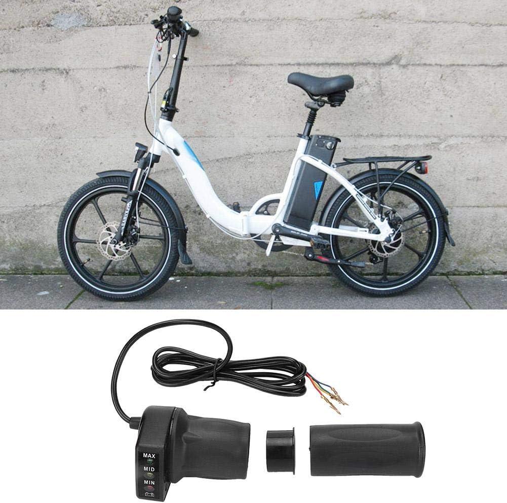 acc/él/érateur /à Demi-Torsion 36 V avec indicateur de Batterie pour Mini-v/élos /électriques pliants Scooters Longzhuo Acc/él/érateur de Guidon
