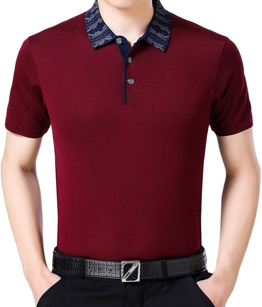 Camisa De Polo para Camiseta Casual De Hombre Verano Modernas ...