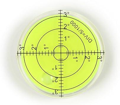 Mini Round Bubble Level Spirit Circular Bullseye Measurement Instrument Circle 5