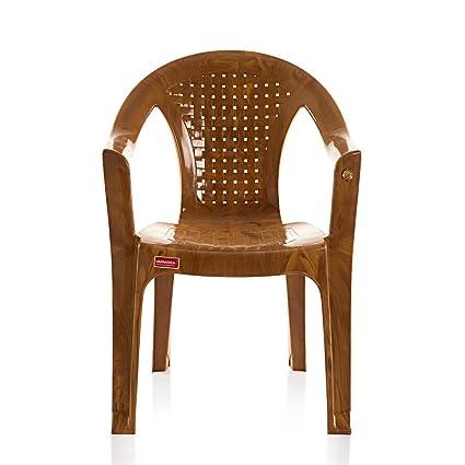 Varmora Medium Back Chair (Netted - Multi Color)