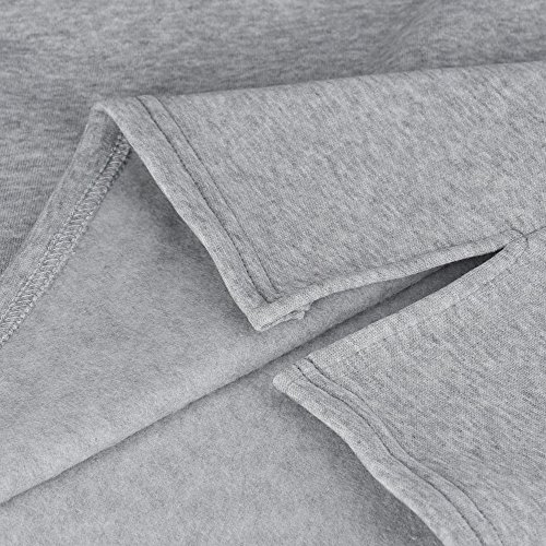 Gris De Mujeres Invierno Blusas Escudo Las Otoño AqUwxPF