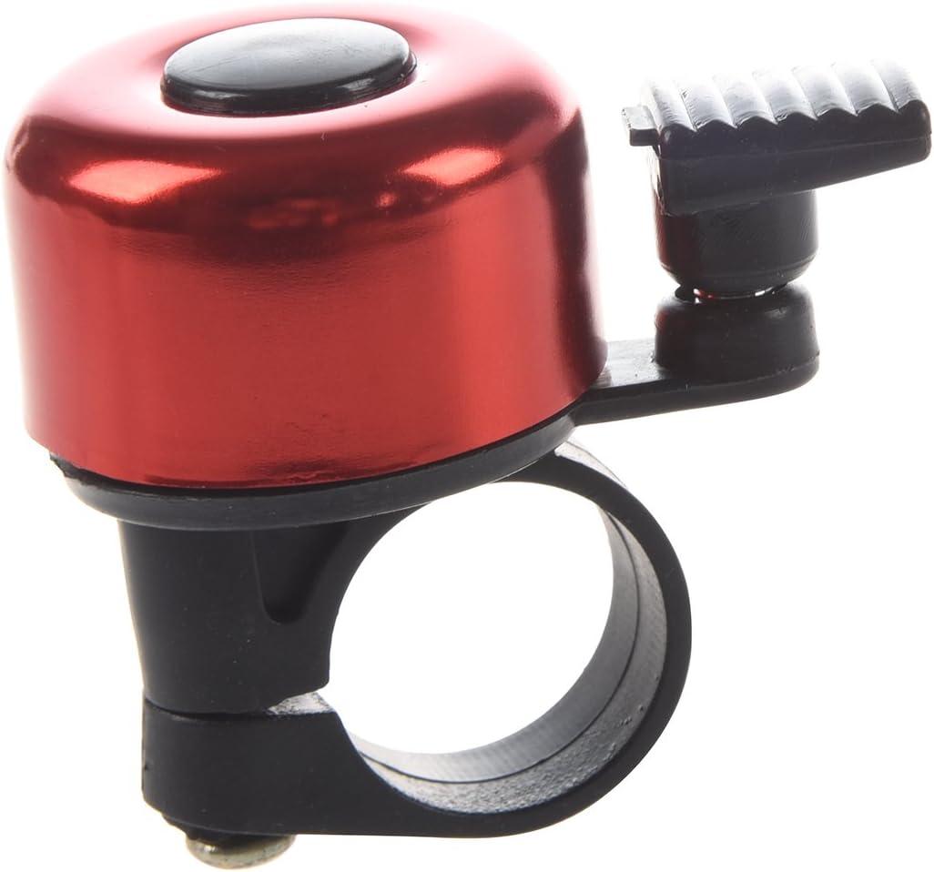 TOOGOO rouge R Sonnette de guidon de velo Bell Ring en aluminium