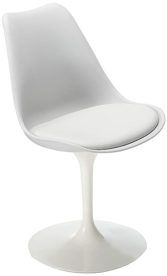 Terrific Amazon Com Eero Saarinen Style Tulip Chair Grey Chairs Andrewgaddart Wooden Chair Designs For Living Room Andrewgaddartcom
