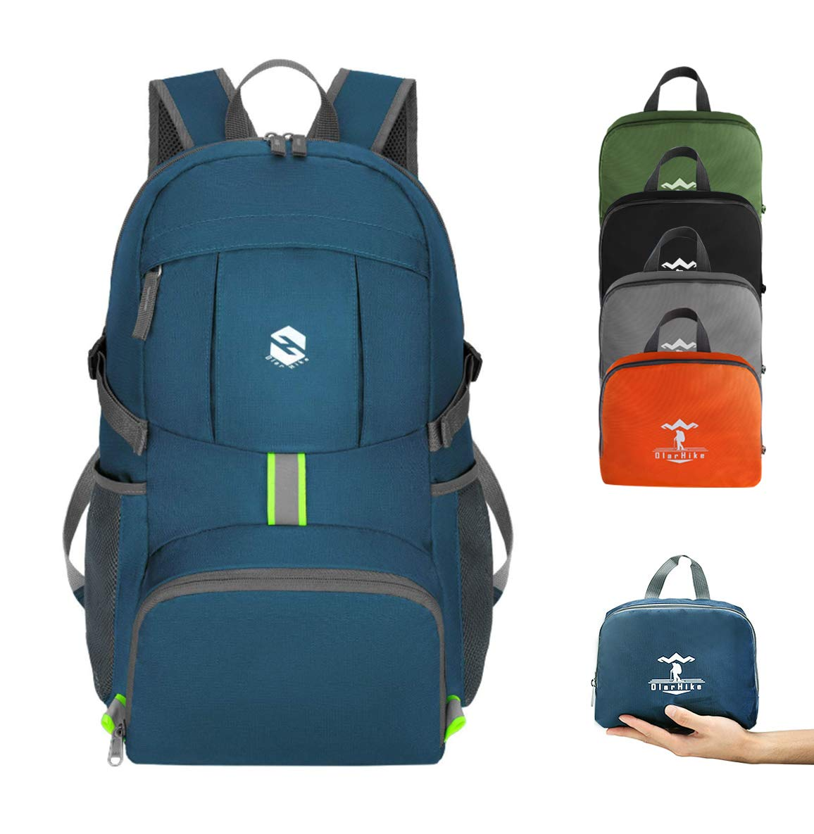 The OlarHike 35L Lightweight Hiking Backpack travel product recommended by Lydia on Lifney.