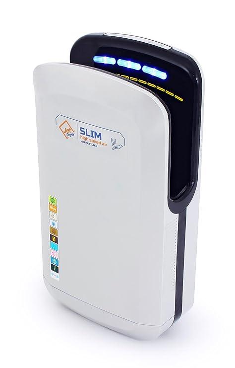 Jet Dryer Rápido y Potente secador de Manos Hecha a Mano con un Sistema de secar