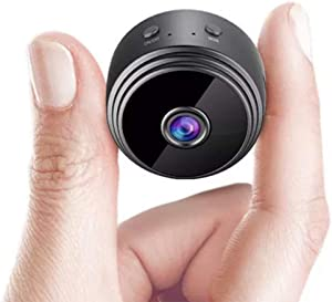 Mini WiFi Security Hidden Camera HD 1080P with Smartphone App and Night Vision IP Home Security Video Cam