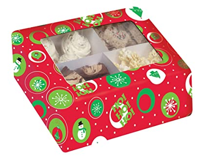 Caja Para Dulces Navidad