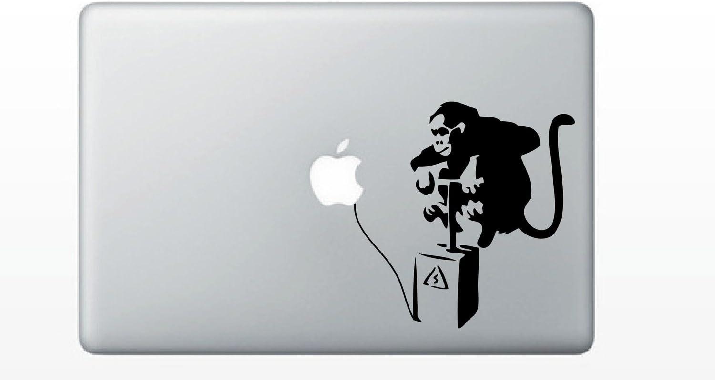 Banksy Monkey Bomb MacBook Decal Mac Apple skin sticker