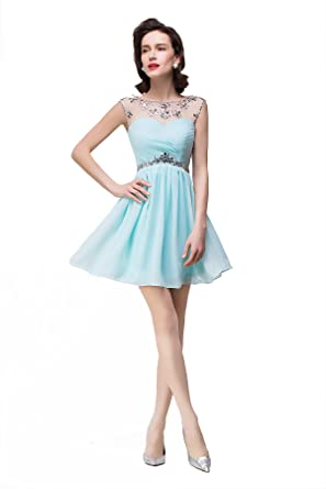 Aqua Party Dresses for Teenagers
