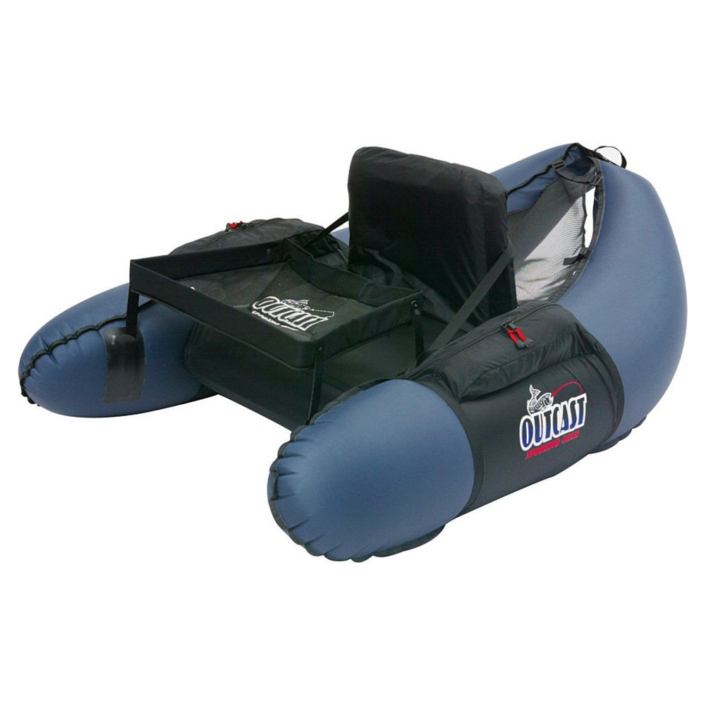 Outcast Trinity Float Tube Navy, One Size by Outcast Sporting Gear
