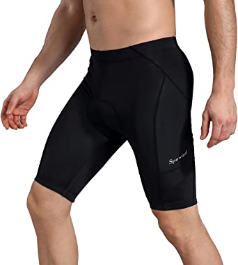 Men/'s Cycling Shorts Bicycle 3D Padded MTB Bike Short Pants Riding Black Shorts