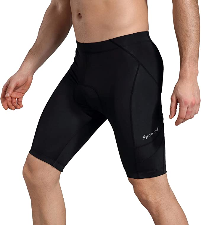 Breathable /& Absorbent SILIK Mens Cycling Shorts Underwear ,3D Padded Bicycle Riding Pants Bike Tights Biking Clothes
