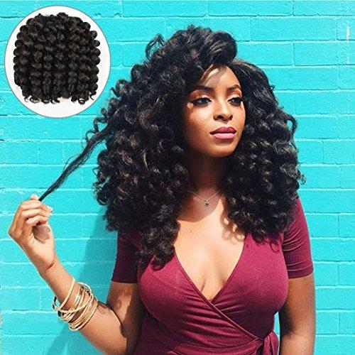 Jamaican Bob Hairstyle: Amazon.com : Mali Bob Braid Hair Extensions, Kinky Curly