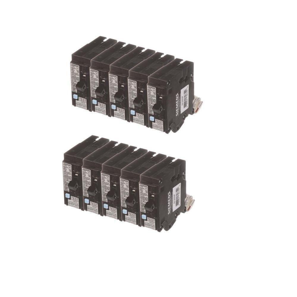 20 Amp Single Pole Dual Function Circuit Breakers (10 Pack)