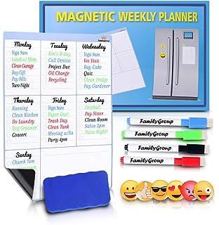 Amazon.com : Magnetic Dry Erase Calendar for Fridge - Large ...