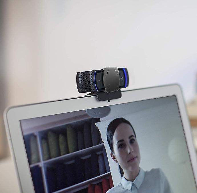 Logitech 罗技 C920s 1080p高清网络摄像头 主播摄像头 7.1折$49.99 海淘转运到手约¥358