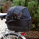 Trixie Bicycle Bag (11.5 × 16.5 × 19ins) (Black)