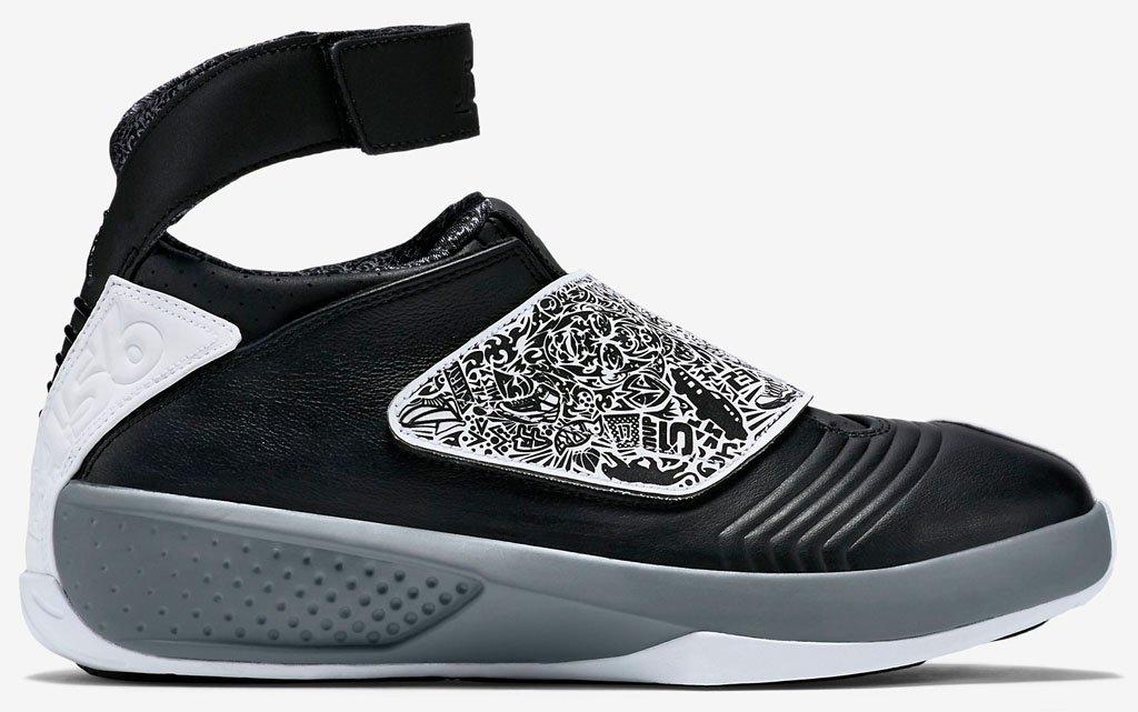 Air Jordan XX black/ white/ cool grey 310455 003 size 12 by NIKE