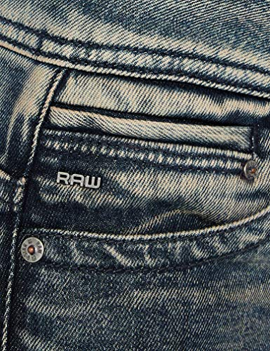 G Jeans dk Style Raw star 89 Exclusive Wmn Saddle Donna Straight amazon Midge Mid Aged Blu r1rwqUpvx