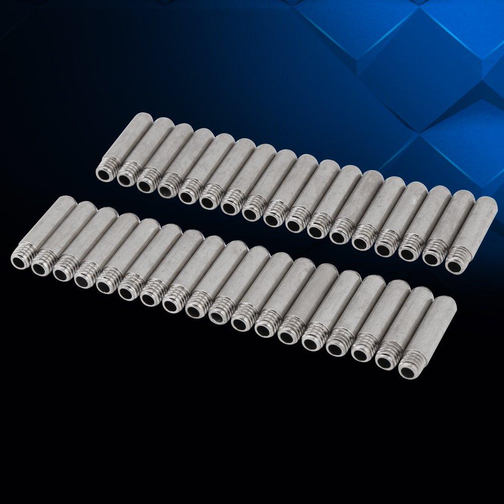 90 St/ücke D/üsen Schneiden Zubeh/ör aus Kupfermaterial und verzinkter Verarbeitung f/ür Plasmaschneidbrenner AG-60 Elektrode Spitze