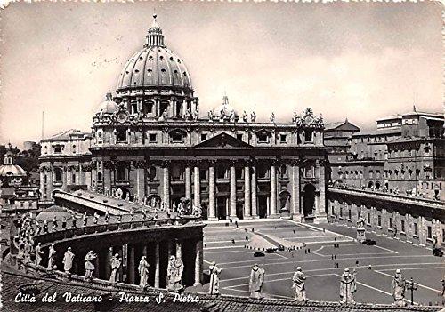 (Citta del Vaticano Piazza S Pietro Italy Postcard)