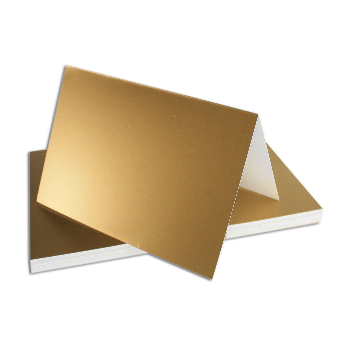250x Falt-Karten DIN A6 Blanko Doppel-Karten in Hochweiß Kristallweiß -10,5 x 14,8 cm   Premium Qualität   FarbenFroh® B07C9DC79F | Kostengünstiger