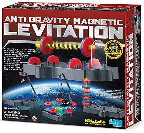 4M Anti Gravity Magnetic Levitation Gear Apparel Toys, 2017 Christmas Toys