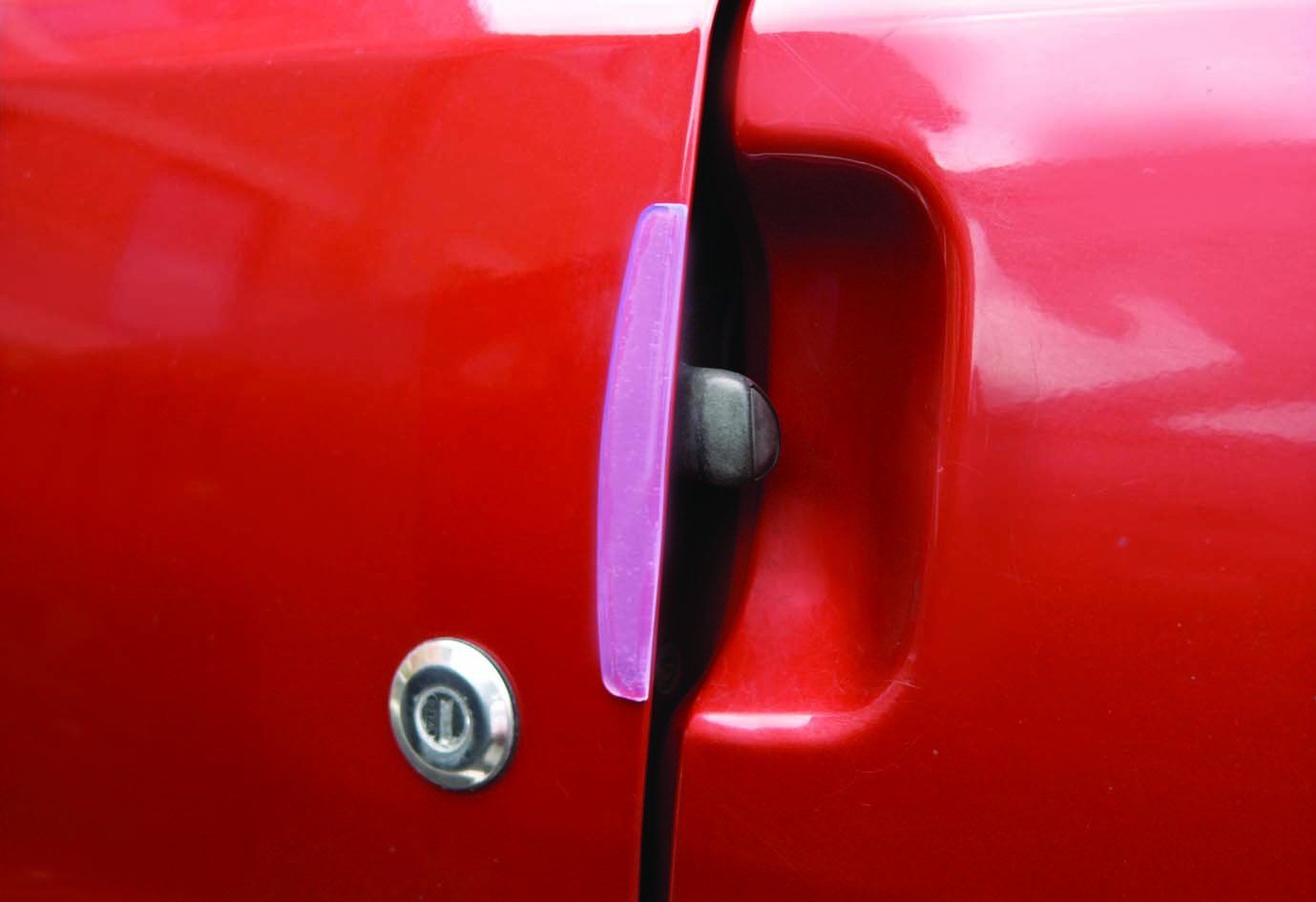 Global Autocare Car Door Edge Guardia protector claro cá scara y palillo AC991 paquete de 4 Global Accessories
