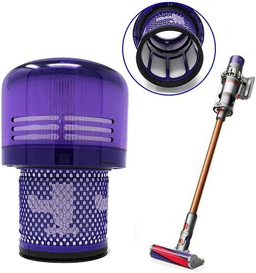 Quanju Elemento de Filtro para porristas HEPA Repuesto para aspiradora Dyson V11 SV14Household Herramienta de Limpieza: Amazon.es: Hogar