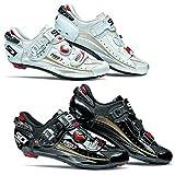 Sidi Ergo 3 Carbon Vernice Road Shoes Black 40